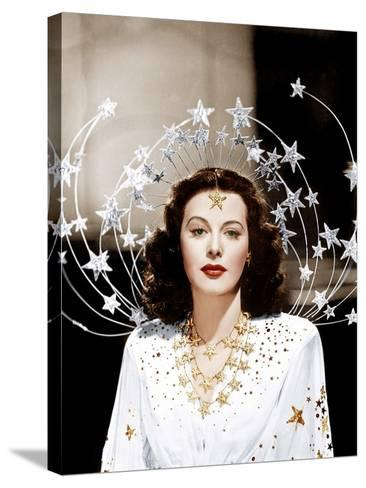 Ziegfeld Girl, Hedy Lamarr, 1941--Stretched Canvas Print