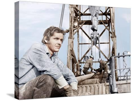 Five Easy Pieces, Jack Nicholson, 1970--Stretched Canvas Print