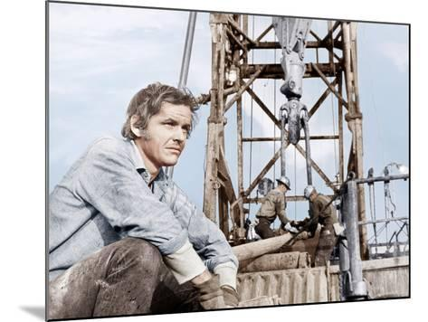 Five Easy Pieces, Jack Nicholson, 1970--Mounted Photo