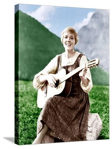 THE SOUND OF MUSIC, Julie Andrews, 1965.--Stretched Canvas Print