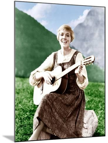 THE SOUND OF MUSIC, Julie Andrews, 1965.--Mounted Photo