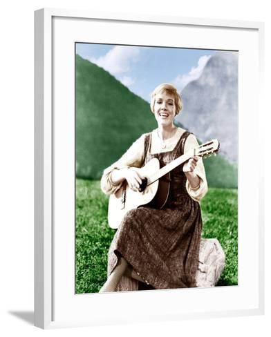 THE SOUND OF MUSIC, Julie Andrews, 1965.--Framed Art Print