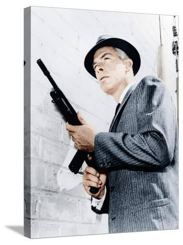 M SQUAD, Lee Marvin, 1957-1960--Stretched Canvas Print