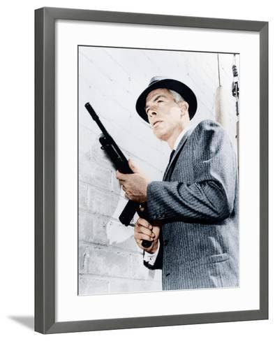 M SQUAD, Lee Marvin, 1957-1960--Framed Art Print