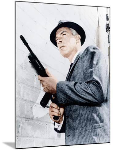 M SQUAD, Lee Marvin, 1957-1960--Mounted Photo