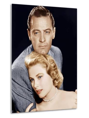 THE COUNTRY GIRL, from left: William Holden, Grace Kelly, 1954--Metal Print