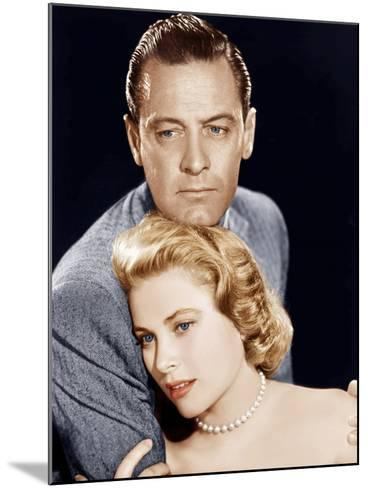 THE COUNTRY GIRL, from left: William Holden, Grace Kelly, 1954--Mounted Photo