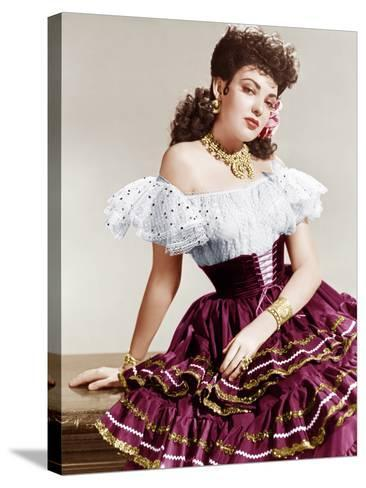 MY DARLING CLEMENTINE, Linda Darnell, 1946.--Stretched Canvas Print