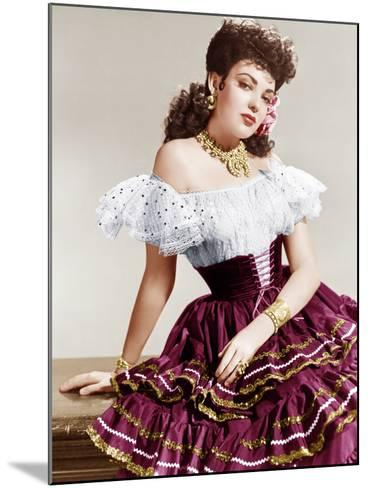 MY DARLING CLEMENTINE, Linda Darnell, 1946.--Mounted Photo