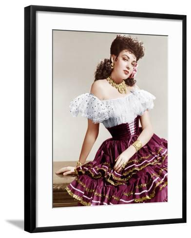 MY DARLING CLEMENTINE, Linda Darnell, 1946.--Framed Art Print