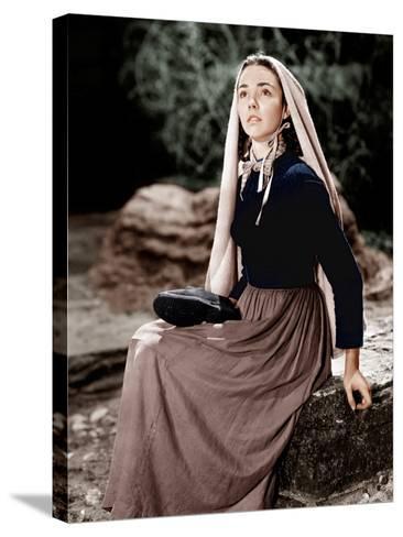 The Song of Bernadette, Jennifer Jones, 1943--Stretched Canvas Print