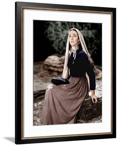The Song of Bernadette, Jennifer Jones, 1943--Framed Art Print
