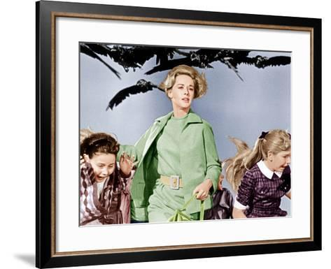 The Birds, Tippi Hedren, 1963--Framed Art Print