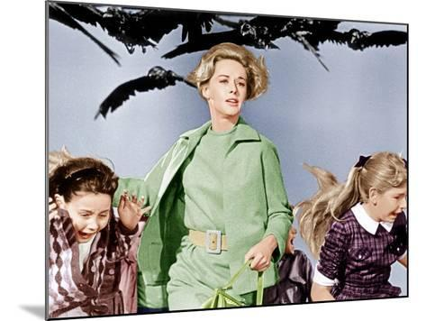 The Birds, Tippi Hedren, 1963--Mounted Photo