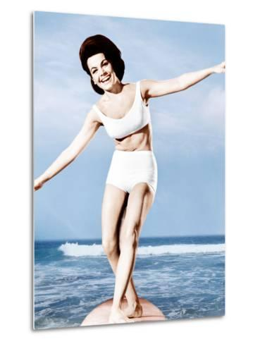 Beach Party, Annette Funicello, 1963--Metal Print