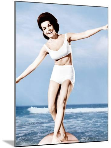 Beach Party, Annette Funicello, 1963--Mounted Photo
