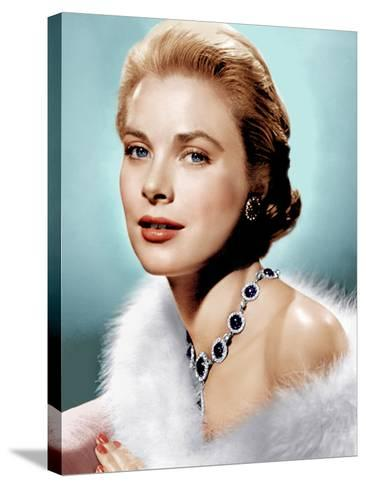 Grace Kelly, ca. 1955--Stretched Canvas Print