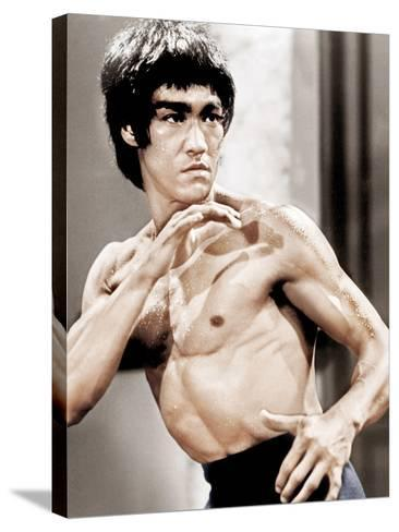 Enter The Dragon, Bruce Lee, 1973--Stretched Canvas Print