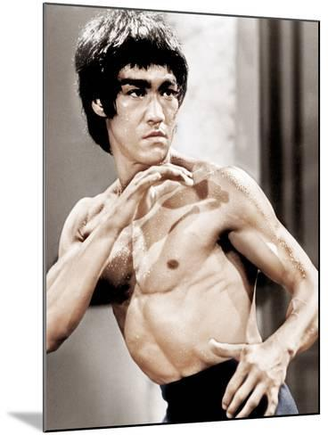 Enter The Dragon, Bruce Lee, 1973--Mounted Photo