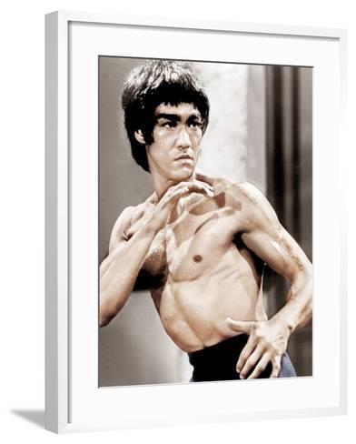Enter The Dragon, Bruce Lee, 1973--Framed Art Print