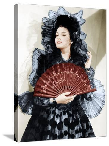 The Mark of Zorro, Linda Darnell, 1940--Stretched Canvas Print