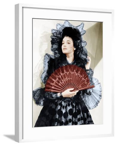 The Mark of Zorro, Linda Darnell, 1940--Framed Art Print