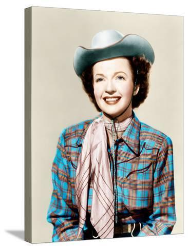 THE ROY ROGERS SHOW, Dale Evans, 1951-1957--Stretched Canvas Print