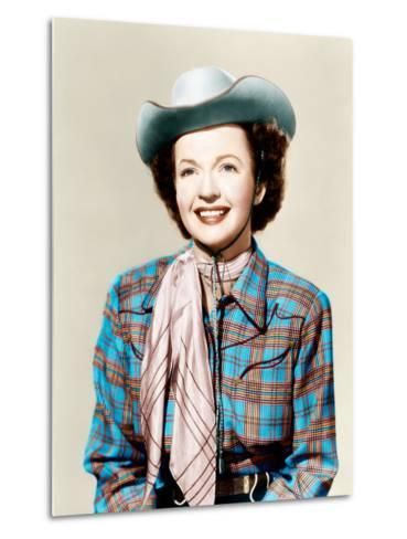 THE ROY ROGERS SHOW, Dale Evans, 1951-1957--Metal Print