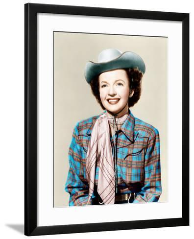 THE ROY ROGERS SHOW, Dale Evans, 1951-1957--Framed Art Print