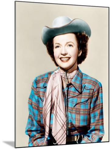 THE ROY ROGERS SHOW, Dale Evans, 1951-1957--Mounted Photo