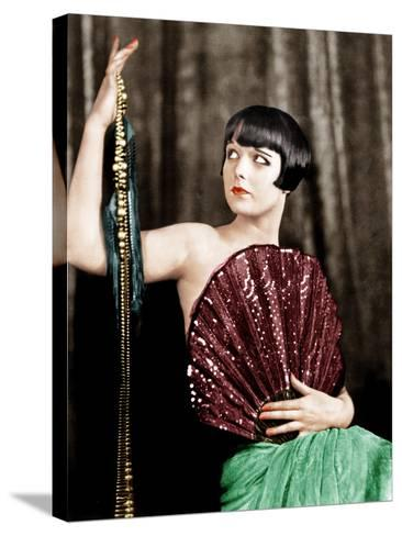 Louise Brooks, late 1920s--Stretched Canvas Print