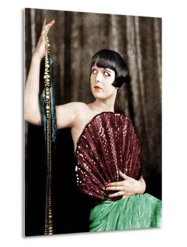 Louise Brooks, late 1920s--Metal Print
