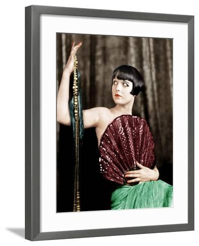 Louise Brooks, late 1920s--Framed Art Print