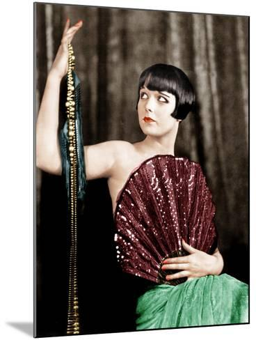 Louise Brooks, late 1920s--Mounted Photo