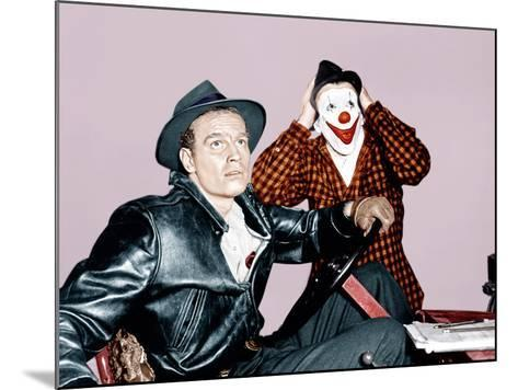 THE GREATEST SHOW ON EARTH, from left: Charlton Heston, James Stewart, 1952--Mounted Photo