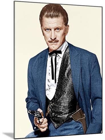 GUNFIGHT AT THE O.K. CORRAL, Kirk Douglas, 1957--Mounted Photo