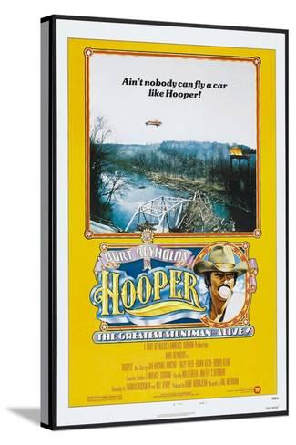 Hooper, US poster, Burt Reynolds, 1978, © Warner Brothers/courtesy Everett Collection--Stretched Canvas Print