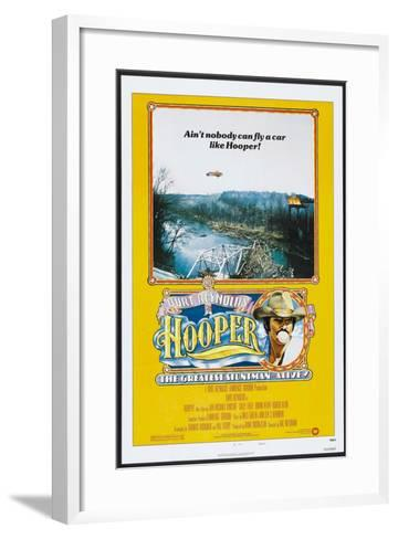 Hooper, US poster, Burt Reynolds, 1978, © Warner Brothers/courtesy Everett Collection--Framed Art Print