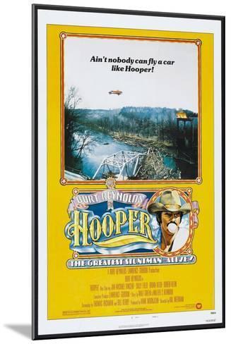Hooper, US poster, Burt Reynolds, 1978, © Warner Brothers/courtesy Everett Collection--Mounted Art Print
