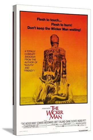 The Wicker Man, Diane Cilento, Christopher Lee, Britt Ekland, 1973--Stretched Canvas Print