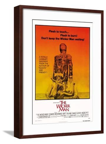 The Wicker Man, Diane Cilento, Christopher Lee, Britt Ekland, 1973--Framed Art Print
