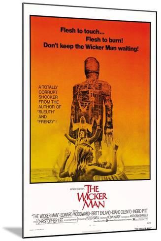 The Wicker Man, Diane Cilento, Christopher Lee, Britt Ekland, 1973--Mounted Art Print