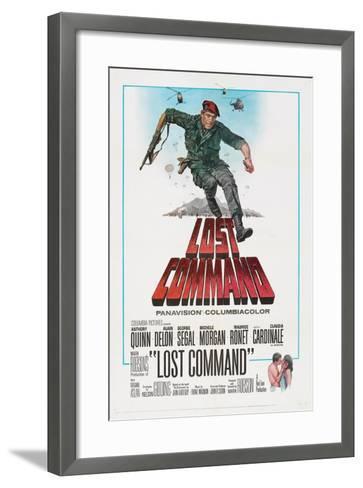 LOST COMMAND, US poster, Anthony Quinn, 1966--Framed Art Print