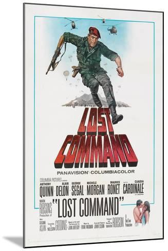 LOST COMMAND, US poster, Anthony Quinn, 1966--Mounted Art Print