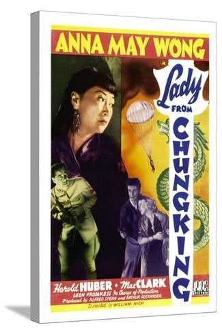 Lady from Chungking, Anna May Wong, 1942--Stretched Canvas Print