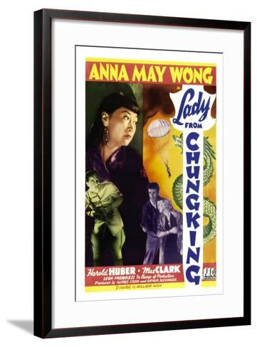 Lady from Chungking, Anna May Wong, 1942--Framed Art Print