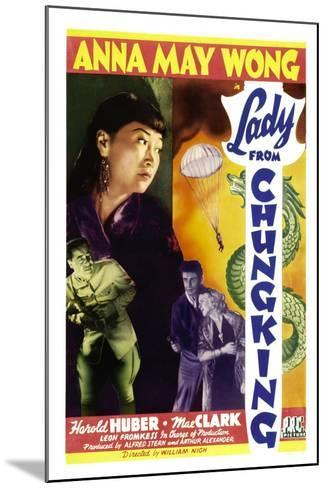 Lady from Chungking, Anna May Wong, 1942--Mounted Art Print