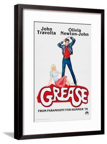 Grease, John Travolta, Olivia Newton-John, 1978, ? Paramount Pictures/courtesy Everett Collection--Framed Art Print