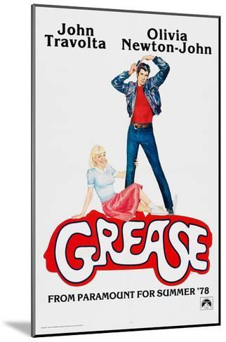 Grease, John Travolta, Olivia Newton-John, 1978, ? Paramount Pictures/courtesy Everett Collection--Mounted Art Print