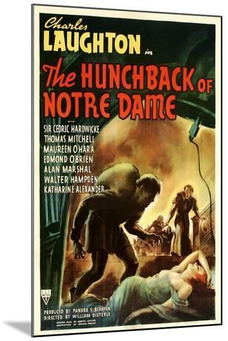The Hunchback of Notre Dame, 1939--Mounted Art Print